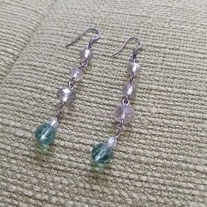 hand made Jewelry - Handmade earrings- Sterling silver and crystals